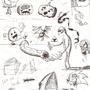 Doodles by ExploadingRabbits