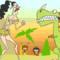 Giant Woman x dinosaur Gif