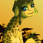 Giraffe girl by gusana