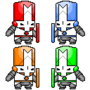 Castle Crashers by LAVAGASM