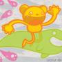 Mushroom Bear by zenodorri