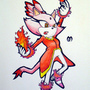 Burning Blaze fanart by FudgeMellow