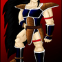 Raditz Heroic Pose by Paradise-of-Darkness