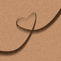 Heart Beige by V3nge