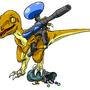Velociraptor by KuroiYasha