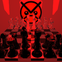 Chess Set of MORE EVIL by OneWhoListens