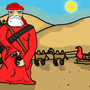 Taliban Santa by nickflash