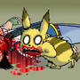 PIKACHU, NO by HotDiggedyDemon
