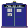 TARDIS 8-bit by SirFurious