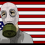 gas mask nation by TUXEDONINJA