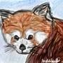 Red Panda by AlbinoWolf