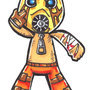 Borderlands Sackboy by Explosiv22