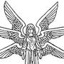 Blind Folded Seraph by AlchemyFox