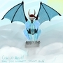 Der Weinachts Schnee Teufel by JackDCurleo