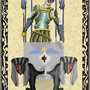 Tarot Card: The Chariot by Toast-Tony