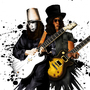 Slash and Buckethead by jandaman