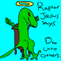 Raptor Jesus by BelligerentF