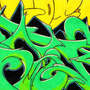 Green Wildstyle Sticker by GOSTEONER