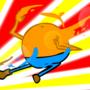 Slightly Orange Strike! by JoSilver