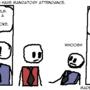 Comic 2 - Mandatory Attendance by PowerDag