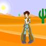 Desert Cowgirl by GundamVash