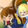 Makoto & Noel by Diives