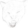 Mad Wolf by FethrdWlf