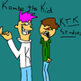 Kombo and Edd by flintangle46