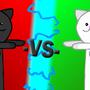 Tthe Ultimate Cat Battle by NinjaCube