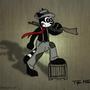 Oscar D. Raccoon by The-Masked-Animator