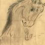 Pastel Horse by XKFrazierPieCrust