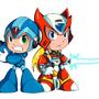 Mega Man X Powered Up by Magicalmelonball