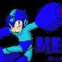 Megaman by PsychoZombii