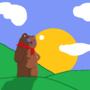 Stuffed Bear by FilthyNeckBeard