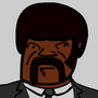 Samuel L Jackson Pulp Fiction by Shoiscool