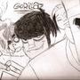 Gorillaz by Otaku32