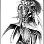 Psycho Masquerade by StarwolfTsuname