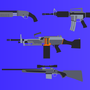 Weapon Set. by CptCarisma