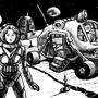 Lunar Express by HybridMind