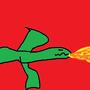 The Destructive Dragon by warhero4343