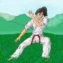 Karate Kat by Rennis5