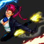 (COLORS ONLY) Crimson Viper by BlazeHedgehog