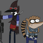 Mordecai and...Brickby? by Deadchick