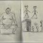 Moleskine Sketch 1 by phoenix27ken