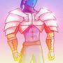 armored ninja by Rennis5