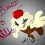 evil cupcake!!!!! by dere-kotsu