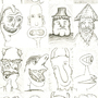 face Idea's #4 by silversam