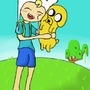 fin and jake = friends forever by pikachica