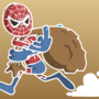 Spider-Man robs a bank by Carbonwater