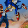 mario vs sonic by spikes123